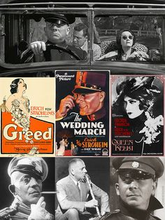 "Erich von Stroheim (Sept. 22, 1885-May 12, 1957) was an Austrian-born film star of the silent era, noted as an auteur for his directorial work. He's best known for playing Max (Gloria Swanson's butler) in Sunset Boulevard (1950). As America entered WWI & anti-German sentiment grew, he cultivated the image of the implacable Hun, & inspired the studio tag line, ""the man you love to hate."" What remains of his 9 1/2 hour masterwork, Greed (1925), is considered to be one the greatest films ever…"