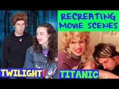 RECREATING FAMOUS MOVIE SCENES! : Miranda Sings -