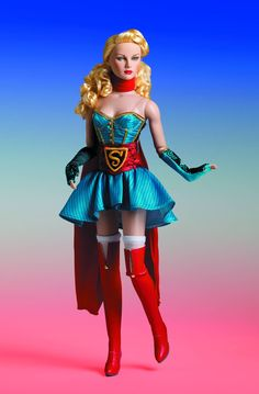 Superman DC Comics Bombshells Supergirl DC Stars Tonner Doll - Free Shipping ▸ Order here: http://eearth.us/?l=d54pj4