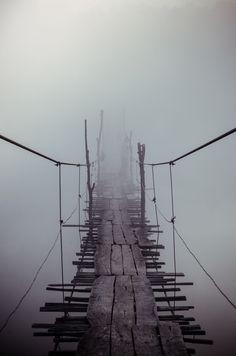 "Old bridge through the ""Yuzhniy Bug River"""
