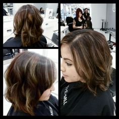 Balayage highlights.   https://m.facebook.com/hairbyrobinearle?id=228113280678843&_rdr