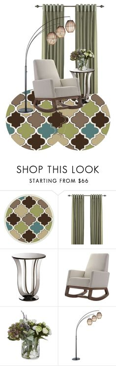 """96"" by julcatai on Polyvore featuring interior, interiors, interior design, home, home decor, interior decorating, Alise Rugs, Baxton Studio, Abbyson Living and Laura Ashley"