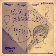 Random Birthday card by meh