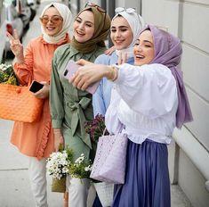 Hijabi Girl, Girl Hijab, Hijab Collection, Hijab Trends, Modest Fashion Hijab, Muslim Women Fashion, Girl Outfits, Fashion Outfits, Fall Fashion