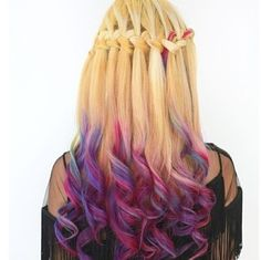 waves roll hairstyle_fashion and beauty Hair Color 2018, Latest Hair Color, Hair 2018, Trendy Hairstyles, Braided Hairstyles, Pink Blonde Hair, Purple Hair, Roll Hairstyle, Medium Hairstyle