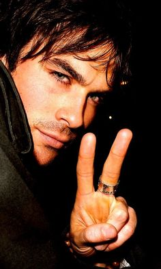 Ian Somerhalder.....I....I....hmm I forgot!