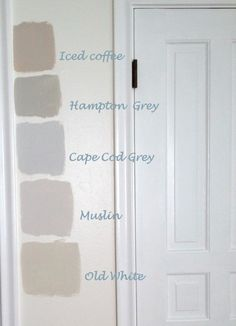 How to choose the right colour.  All colours are from the Painting the Past collection.