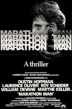 Marathon Man (1976) Original One-Sheet Movie Poster