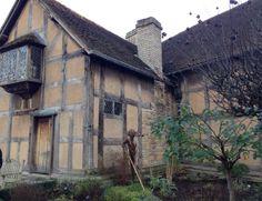 Shakespeare's birthplace #Stratford #shakespeare