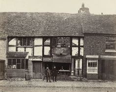 Shakespeare's House, Stratford-On-Avon  Francis Frith (British, 1822–1898)    c. 1860 I've been in this house!