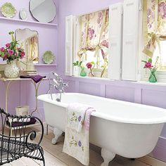 ...very pretty bathroom, although too many things to keep clean...