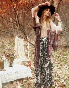 lovely Bohemian skirts for women