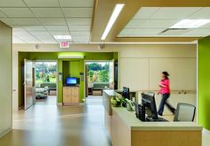 The design team toured new hospitals around the country to gather ideas on design features to enhance patient comfort, safety, and healing, such as standardized, private patient rooms. Photo: Anton Grassl/Esto.