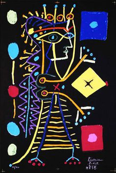 Jacqueline, 1958, by Pablo Picasso