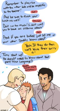 Superfamily = Perfection I ship Tony/Steve like woah and giggle at people who ship Tony/Bruce because really, no. BFFs, maybe, but Tony loves Steve.