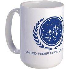 Star Trek; United Federation of Planets Mug