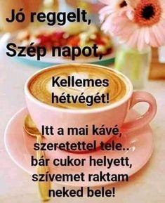 Good Morning Coffee, Mugs, Tableware, Dinnerware, Tumblers, Tablewares, Mug, Dishes, Place Settings