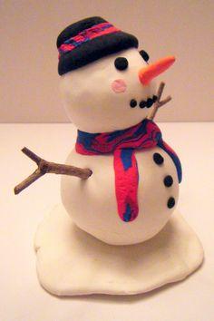 Crayola Model Magic Snowman