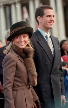 Princess Marie Chantal of Greece, November 20, 1997