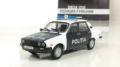 Dacia 1310 1:43 DeAgostini Police Romania model №52  World Police