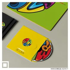 Marbles colorful #branding #design crafted with Love by #CIRCLEvisualcommunication.  Marbles club is a #kids' birthdays & #events planner located in #Lebanon.  #stationery #logo #collateral #behance #lettering #sketches #bestdesign #circle #CD #DVD #packaging  www.circle.agency