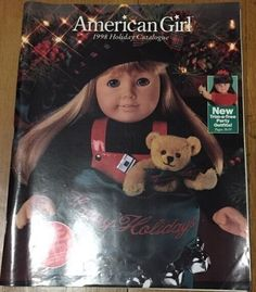 Holiday 1998 Kirsten Cover Vintage Pleasant Company American Girl Catalog #Catalog