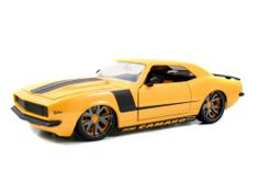 Camara model cars..NOT red. He already has a red one. 2010 Chevy Camaro SS LoPro 1:18 Custom Diecast Model Car (Yellow w/ Black Stripes)