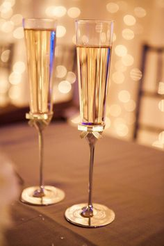 Kate Spade Toasting Flutes - for Johnny and me please!