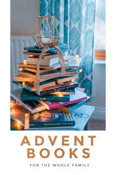 Advent books for the whole family (the list includes Bible Studies too!) #advent #adventbooks