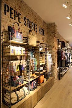 Pepe Jeans London opens new store in Milan, #upperdesign #retaildesign www.facebook.com/upperdesignpoa