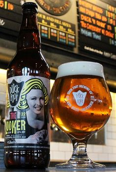 """Duck Foot Brewing, San Diego, CA;  """"The Looker"""""""