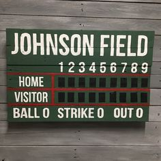 These Scoreboards Make Awesome Decorations For Birthdays Baseball Themed Weddings And Home Decor
