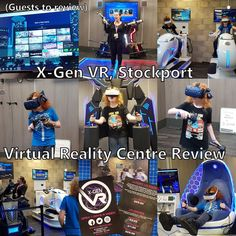 X-Gen VR is a brand new Virtual Reality Centre which has opened in Stockport and excitingly they invited us down to have a look and a play o. Vr Room, Choice Of Games, Warhammer Games, Silly Games, Walking The Plank, Canal Boat, Amsterdam Travel, Different Games, Single Player