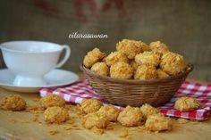 Biskut Keju Cornflakes / Cornflakes Cheese Cookies ~ Recipes