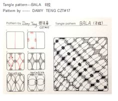 tangle pattern -BALA by Damy Teng