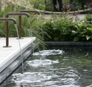 Simple but beautiful water feature - Doylescapes