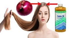 How to get thicker & Fuller Hair with 2 simple natural ingredients Hair is often referred as the crowning glory of every woman. A woman with densely-packed H. Castor Oil For Hair, Hair Oil, Biotin Hair Growth, Hair Regrowth, Get Thicker Hair, Excessive Hair Loss, Natural Health Remedies, Natural Cures, Hair Issues