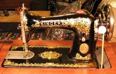 This site has great information for cleaning very old sewing machines. I have an old treadle machine I would love to get working.