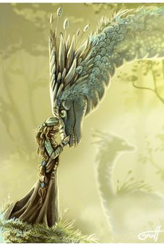 There was a bond between a dragon and its rider, a joining of the hearts and souls and minds for eternity. For a dragon did not choose just any person, but searched in their souls to hear the one whose blood sang the same dragon-song his did.