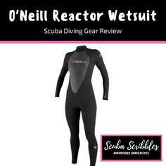 Scuba Diving Gear Review of O'Neill Reactor 3/2mm Full Wetsuit by Candice Landau | Scuba Scribbles