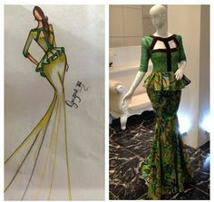 Ankara style ~African fashion, Ankara, kitenge, African women dresses, African prints, African men's fashion, Nigerian style, Ghanaian fashion ~DKK