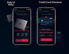 """Check out new work on my @Behance portfolio: """"Credit Card Checkout - DailyUI #002"""" http://be.net/gallery/65894737/Credit-Card-Checkout-DailyUI-002"""