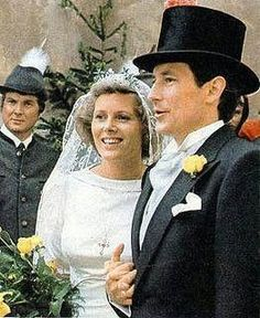 Prínce Luis Fernando of Prussia + countess Donata Emma of Castell-Rüdenhausen