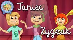 TANIEC ZYGZAK – Wygibasy z naszej klasy - piosenka dla dzieci, dziecięce... Tip Top, Karaoke, Multimedia, Ronald Mcdonald, Family Guy, Education, Youtube, School, Children