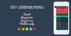 Buy ODY Sidebar Menu by bogdancrisu on CodeCanyon. ODY Sidebar Menu is a vertical side menu that push the main content when it is opened, has great compatibility with a. Social Icons, Social Networks, Ecommerce Logo, Logo Images, Shopping Sites, Website Template, Mobile App, Web Design, Main Menu