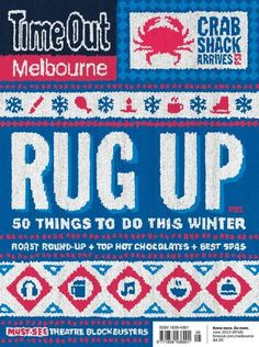 Cover Time Out Sydney magazine and Melbourne edition Art Director Tom Hislop