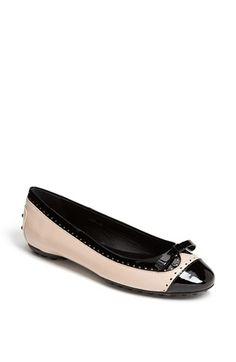 Tod's Ballet Flat available at #Nordstrom