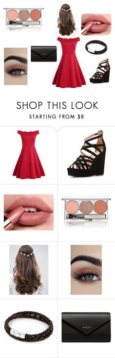 """""""put a ring on it"""" by arishafatmaintokyo ❤ liked on Polyvore featuring beauty, Charlotte Russe, Chantecaille, ASOS, Tateossian and Balenciaga"""