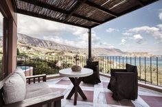 Mediterranean and coast line Elounda Crete, Coast