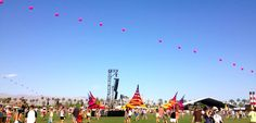 Coachella atmosphere!